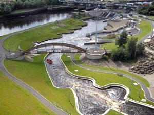 Water Rafting Course Tees Barrage