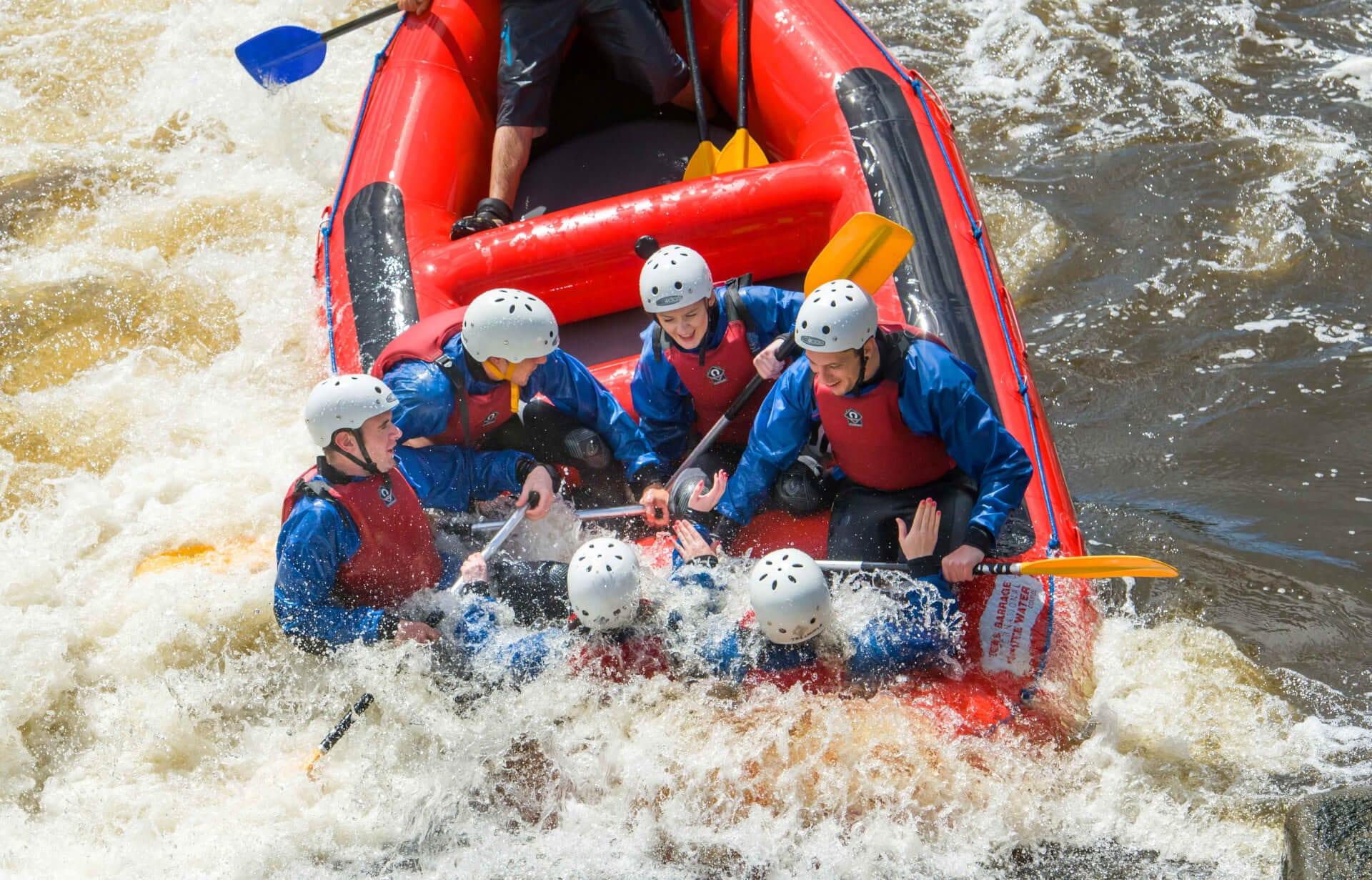 Colorado river rafting