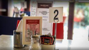 The Barrage Cafe Menu